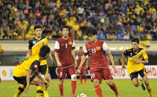 Hoà chủ nhà Brunei, HLV Guillaume chỉ trích trọng tài thiên vị