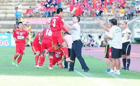 Đánh bại ĐKVĐ V-League, Hải Phòng giành cúp Quốc gia