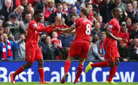 Liverpool 2-1 Southampton: Lữ đoàn Đỏ nhọc nhằn giành 3 điểm (VIDEO)