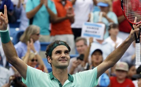 Đánh bại Ferrer, Roger Federer đi vào lịch sử Cincinnati