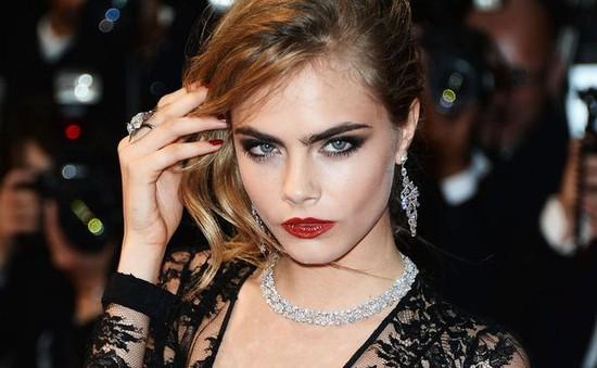 Cara Delevingne - Sao đích thực trên thảm đỏ Cannes