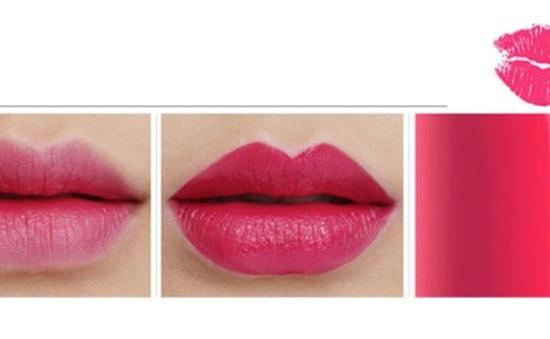 Son môi hồng ngày Tết