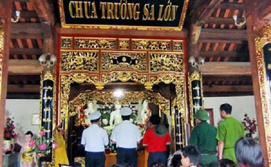 Thêm hai ngôi chùa được xây dựng tại Trường Sa