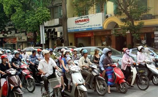 Hà Nội thu phí đường bộ đối với xe máy từ 21/7