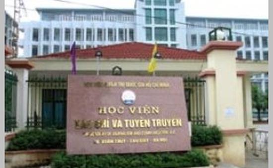 HV Báo chí & Tuyên truyền công bố điểm chuẩn