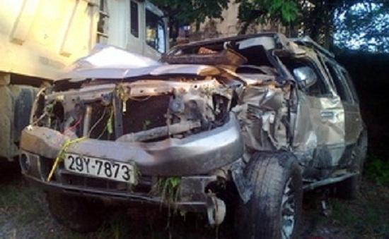 Tàu hỏa tông ô tô, một người tử vong