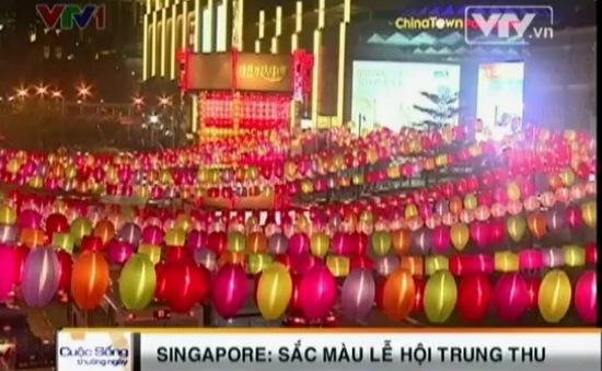Rực rỡ sắc màu Lễ hội Trung thu tại Singapore