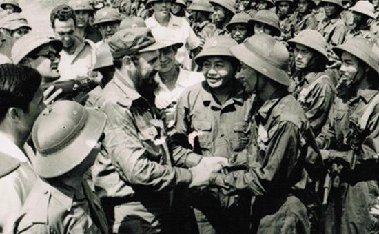 40 năm ngày lãnh đạo Cuba Fidel Castro thăm vùng giải phóng