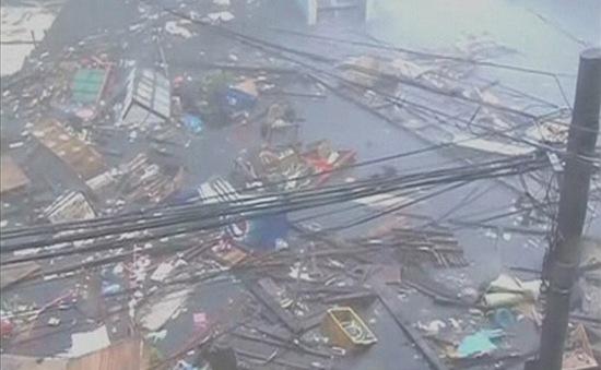 Philippines đối phó với siêu bão Haiyan như một cuộc chiến