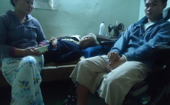 Cơ cực người phụ nữ bệnh tim nuôi mẹ già và đứa con tật nguyền