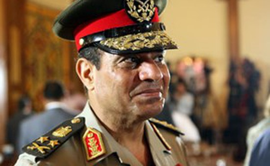 Ai Cập: Quân đội đề cử ông El-Sisi tranh cử Tổng thống