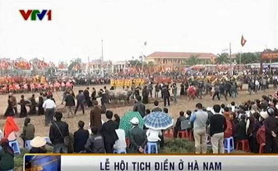 Phó Chủ tịch nước Nguyễn Thị Doan dự Lễ hội Tịch Điền