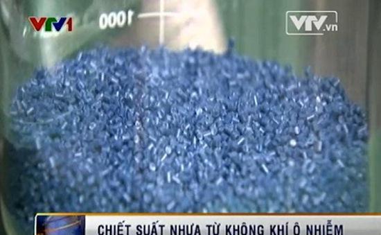 Chiết xuất nhựa từ… không khí ô nhiễm
