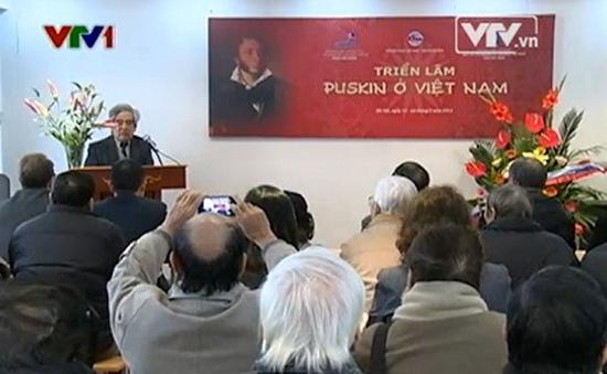 Lần đầu triển lãm những tư liệu về Puskin tại Việt Nam