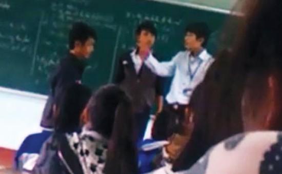 Vụ thầy trò đánh nhau: Sa thải thầy Trần Anh Tuấn