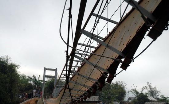 Công bố chính thức nguyên nhân sập cầu treo Lai Châu