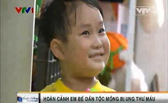 Cháu bé dân tộc Mông bị ung thư máu cần giúp đỡ!