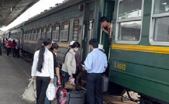 Tăng đôi tàu chạy tuyến Hà Nội - Đồng Hới và ngược lại