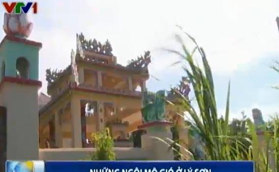 Những ngôi mộ gió ở huyện đảo Lý Sơn