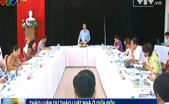 Đại biểu Quốc hội thảo luận về hai dự thảo luật sửa đổi