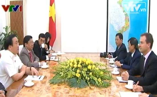 Phó Thủ tướng Hoàng Trung Hải tiếp Tổng thư ký CITES quốc tế