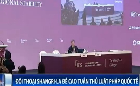 Đối thoại Shangri-La đề cao tuân thủ luật pháp quốc tế