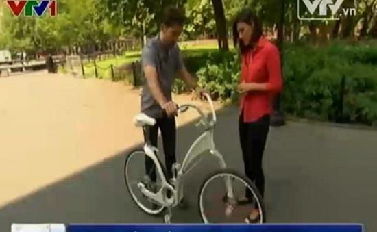 Xe đạp điện thông minh nặng 15kg