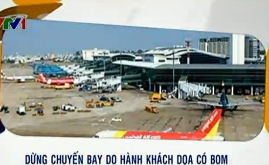 Hành khách dọa có bom, chuyến bay trễ 3 tiếng