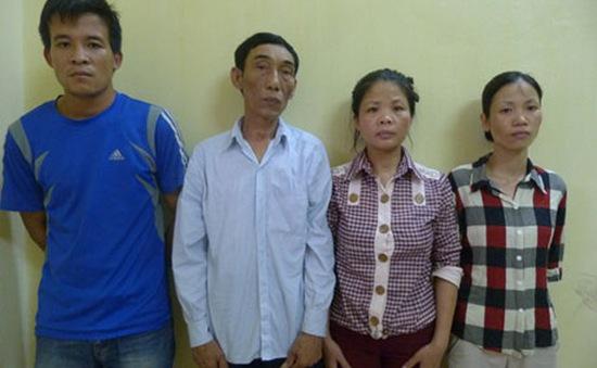 Bắt nhóm đối tượng bán thiếu nữ vào nhà chứa Trung Quốc