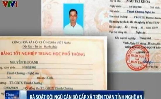 UBND tỉnh Nghệ An rà soát bằng cấp của 40.000 cán bộ, công chức