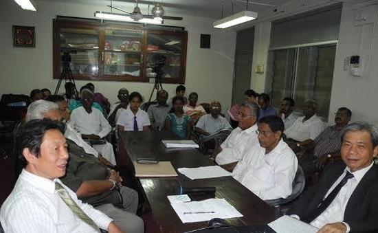 Hội Đoàn kết Sri Lanka - Việt Nam tọa đàm về tình hình Biển Đông