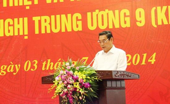 Hội nghị toàn quốc quán triệt và triển khai Nghị quyết Trung ương 9 khóa XI