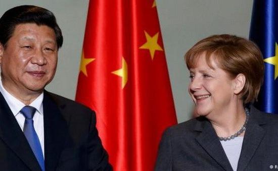 Thủ tướng Đức Angela Merkel thăm Trung Quốc