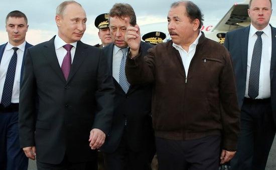 Tổng thống Nga bất ngờ thăm Nicaragua