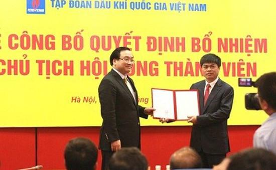 Công bố tân Chủ tịch Tập đoàn Dầu khí Việt Nam