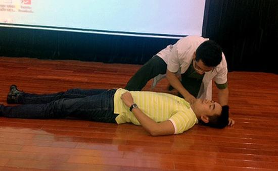 CSGT Hà Nội tập huấn công tác sơ cứu thương