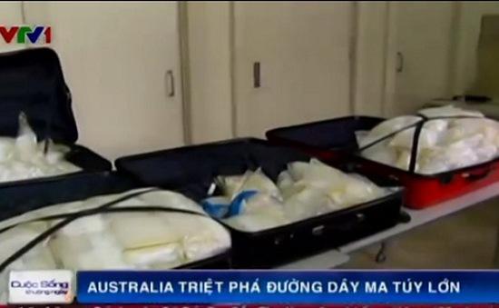 Australia bắt số ma túy đá trị giá 123 triệu USD
