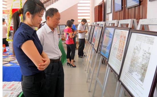 Triển lãm về chủ quyền biển, đảo Việt Nam tại Thái Nguyên