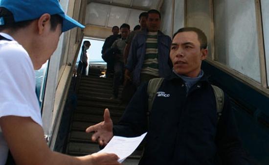 Lao động trở về từ Libya được hỗ trợ cao nhất 7,5 triệu đồng/người
