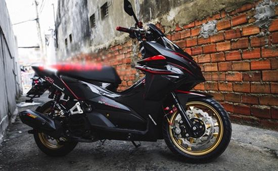 Air Blade độ dáng xe mô tô khủng của dân chơi Việt