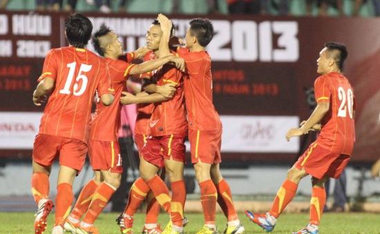 U23 Việt Nam 3-1 U23 Santos: Thắng toàn diện