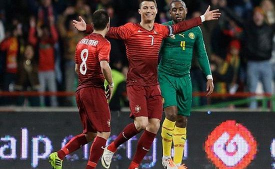 Ronaldo trở thành cầu thủ ghi nhiều bàn nhất lịch sử bóng đá Bồ Đào Nha