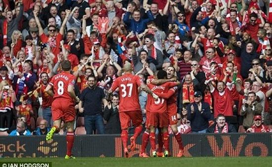 Đại thắng Spurs, Liverpool chiếm ngôi đầu Premier League