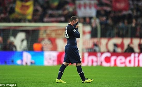 Man Utd bị loại: Rooney không đáng bị trách cứ!