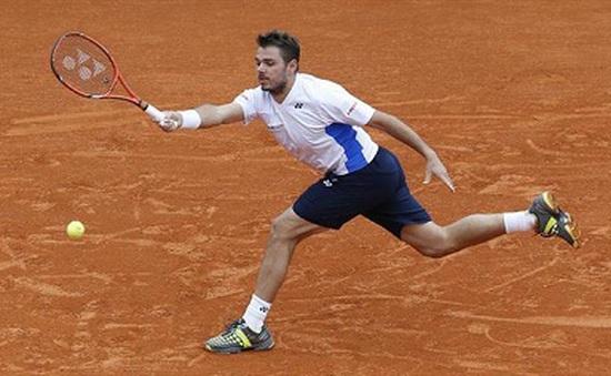 Wawrinka cảm ơn Federer sau trận chung kết Monte Carlo kịch tính