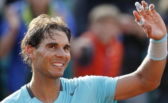 Roland Garros: Nadal mạnh mẽ tiến thẳng vào vòng 4