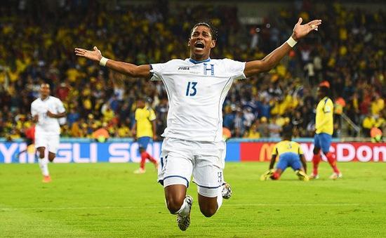 Honduras kết thúc quãng 8 kỳ World Cup không ghi bàn
