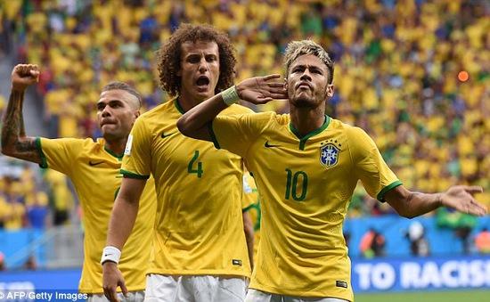 Đại thắng Cameroon, Brazil có trận đấu thứ 100 hoàn hảo ở World Cup