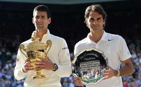 Toàn cảnh màn kịch chiến tại chung kết Wimbledon 2014 giữa Nole và Federer