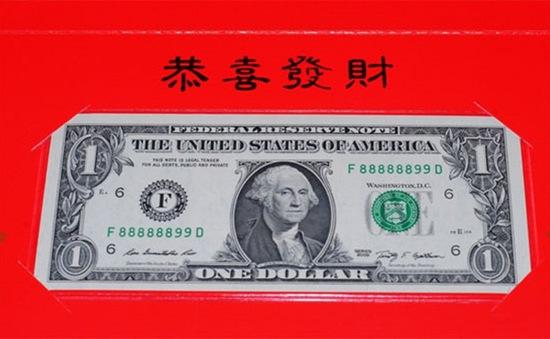 Tờ 1 USD cho năm Rắn có mang ý nghĩa phong thủy?